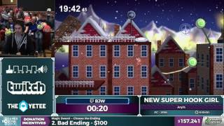 New Super Hook Girl by bjw in 5:57 - Awesome Games Done Quick 2017 - Part 19