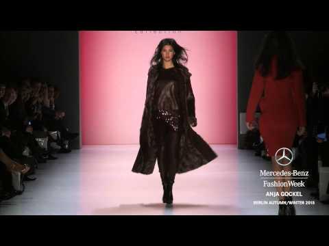 ANJA GOCKEL: Mercedes-Benz Fashion Week Berlin AW 2015