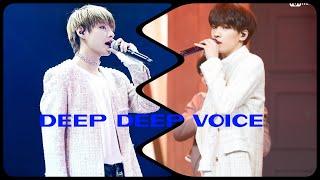Bts and Seventeen Similarities 10.Wonwoo and Taehyung DEEP DEEP Voice