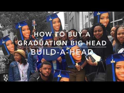 Build A Head >> Graduation Big Heads Youtube