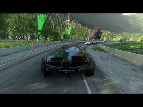 DRIVECLUB The forests of Canada | Pagani Huayra | PS4 Gameplay (HQ 1080p)