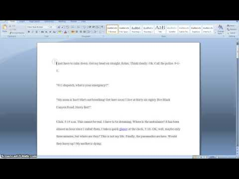How to make a short essay look longer!