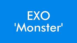 Download Mp3  Instrumental/karaoke  Exo - Monster  With Easy Lyrics