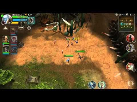 Игра Heroes of Order & Chaos обзор персонажа Elf (Лучница)