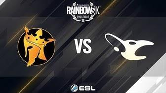 Rainbow Six Pro League - Season 8 - NA - Noble eSports vs. mousesports - Week 14