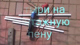 Арка из пластиковых труб на дачу. Arch from plastic pipes on the dacha.