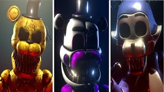 Sinister Turmoil ALL ANIMATRONICS