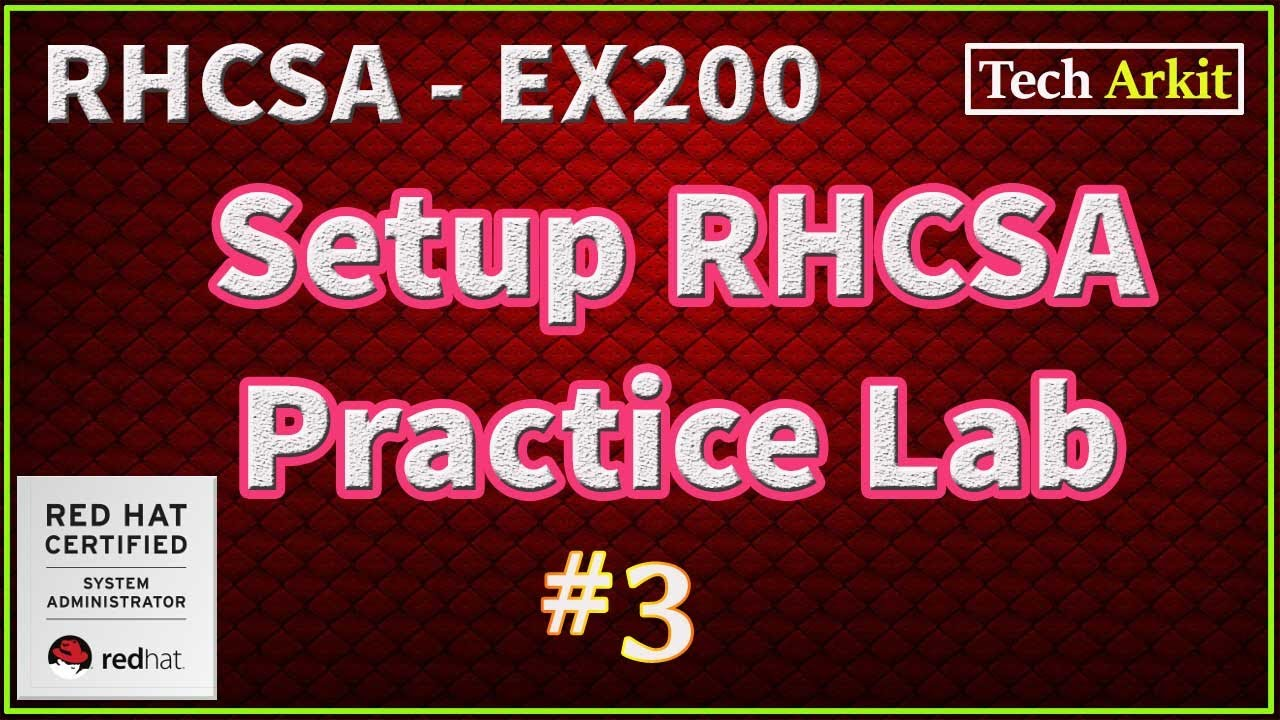 Setup Linux Lab Using Laptop/Desktop - RHCSA Certification Preparation