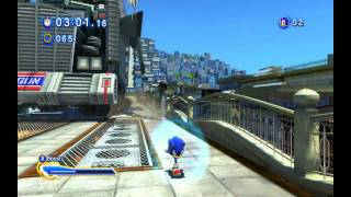 Sonic Generations PC | City Escape | G.U.N Truck Chase
