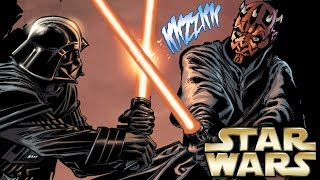 How Darth Vader fought Darth Maul in Star Wars Legends