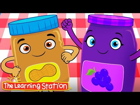 Peanut Butter and Jelly ♫ Food Song for Kids ♫ Kids Songs ♫ The Learning Station