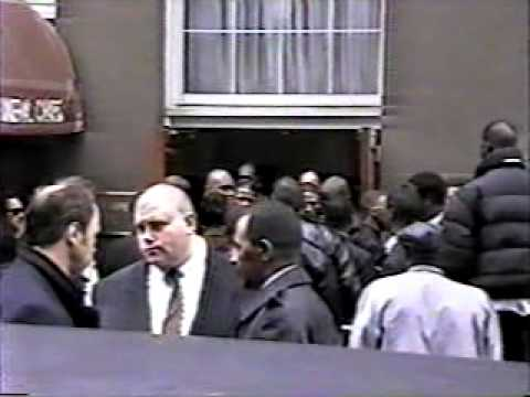 Biggie Smalls Funeral Pt 3 Shot By Zulu25 Never Seen Before By The Public 97