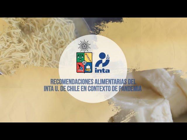 INTA de la U. de Chile entrega recomendaciones alimentarias para el contexto de pandemia