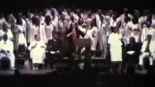 Walter Hawkins Funeral Celebration Choir God Will See U Through.wmv