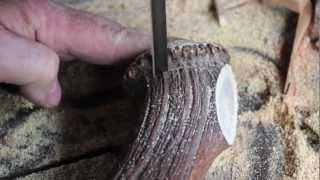 Vadászkés készítés - Handmade hunting knifes (longer version)