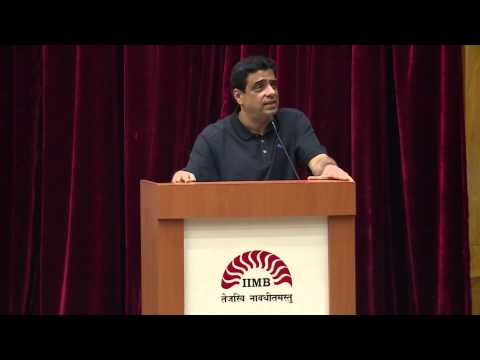 Ronnie Screwvala's lecture at IIM B