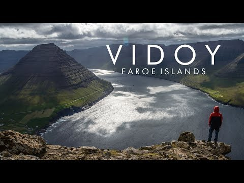 Hiking at Vidoy, Faroe Islands - Villingardalsfjall (4K & drone)