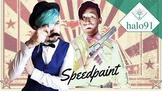 Jameson and Warfstache - Speedpaint