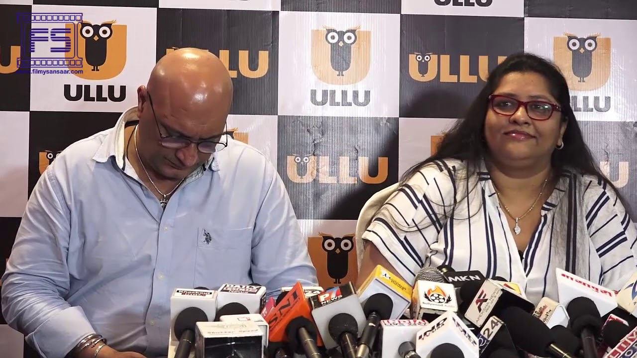 The Press Meet Of Ullu App's Upcoming Web Series #MeToo Wolf of Bollywood -  Part - 2 | Filmy Sansaar
