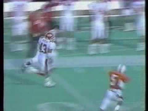 Mark Mason of Maryland runs for a score vs. Virginia