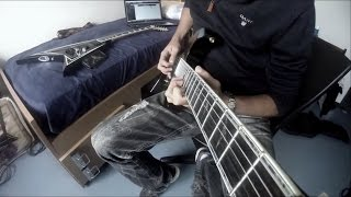Black Veil Brides - Faithless [Full Guitar Cover w/ solo] (HD)