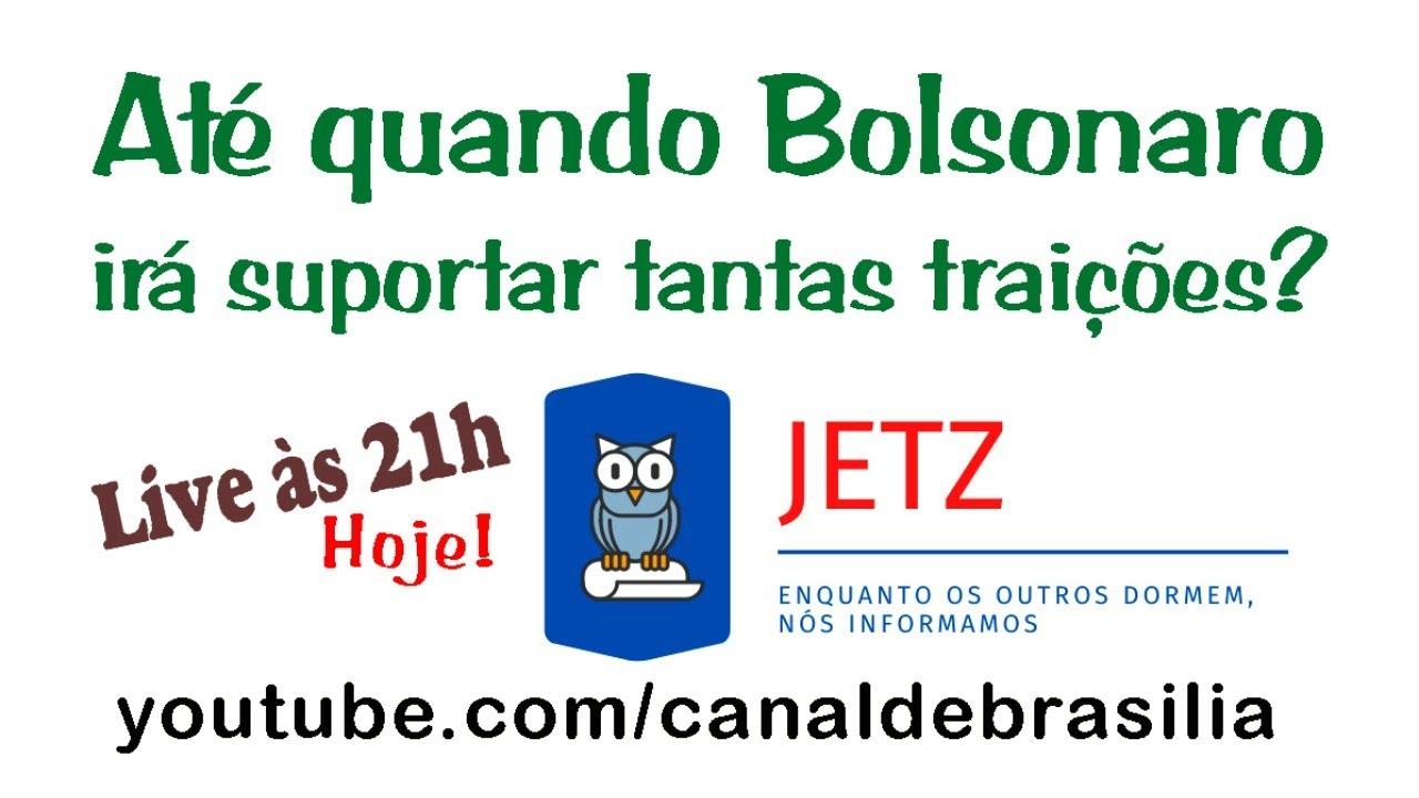 Jetz - Na sua opinião, até quando Bolsonaro irá suportar?