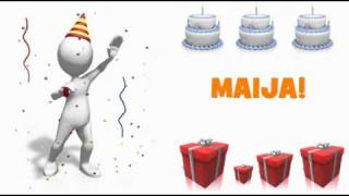 HAPPY BIRTHDAY MAIJA!