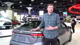 2020 Toyota Corolla: LA Auto Show