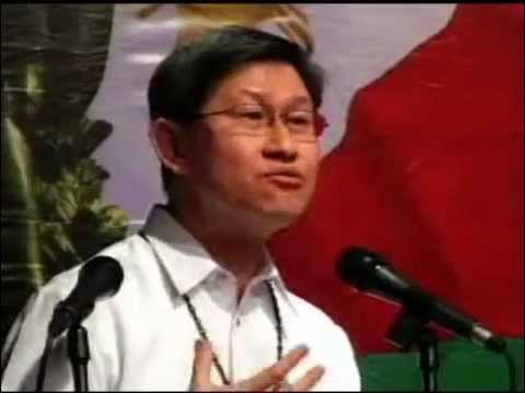 Cardinal Tagle, UP Manila Commencement Speaker