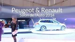 Salon de l'Auto de Genève 2014 - Peugeot (PSA) & Renault