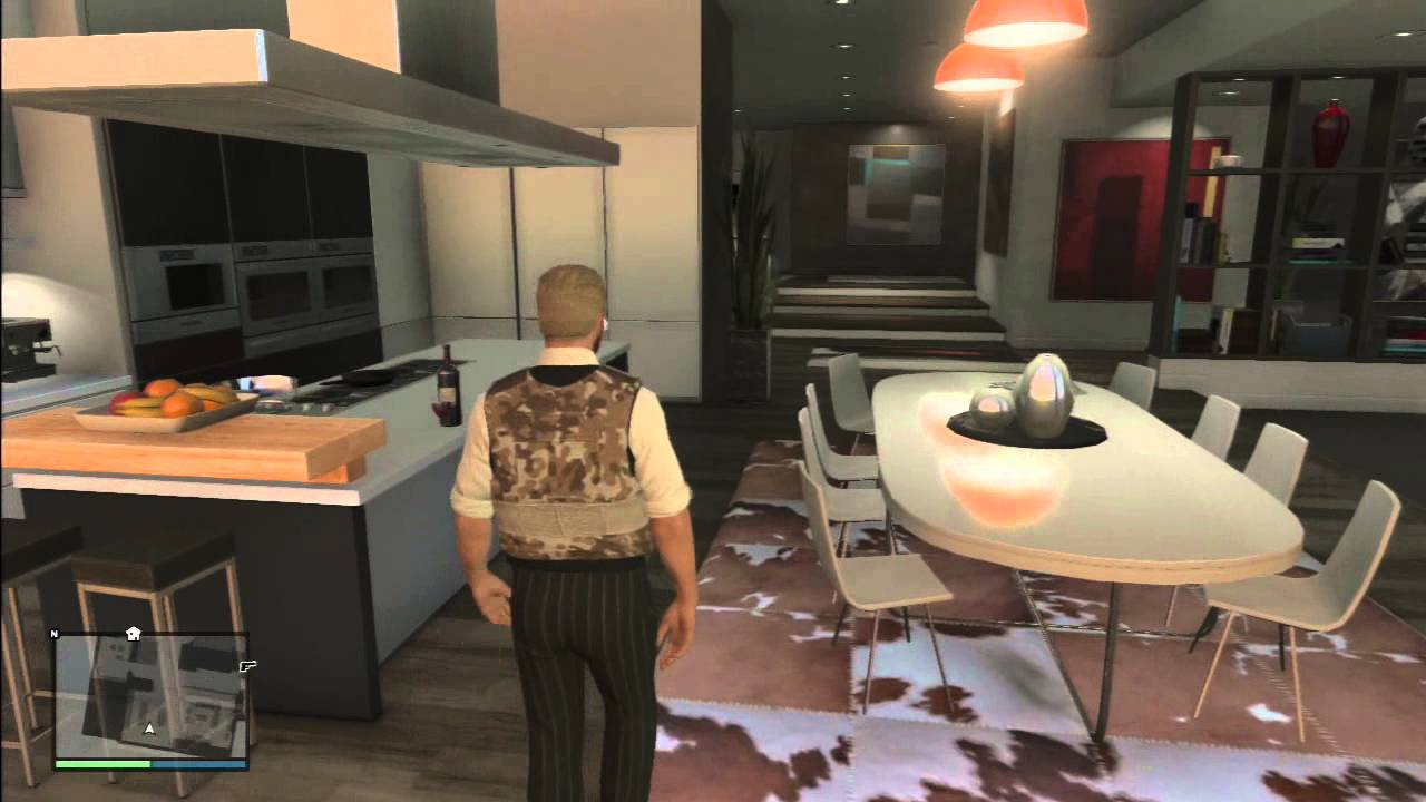 Awesome GTA 5 Online Tour Of High Life DLC Apartment   Del Perro Heights Apt 4    YouTube