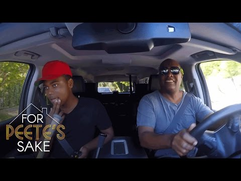 Rodney Peete Has Heart-to-Heart with His Son Robinson About His Work Ethic | For Peete's Sake | OWN
