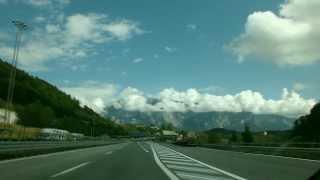 Road to the Alps/Дорога в Альпах