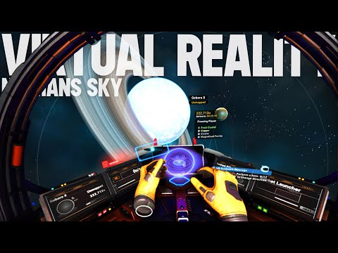 I Played this in Virtual Reality - No Man&39;s Sky