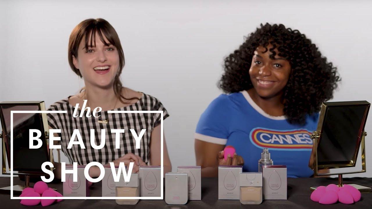 Testing Beautyblender's New Bounce Liquid Foundation | The Beauty Show | Harper's BAZAAR