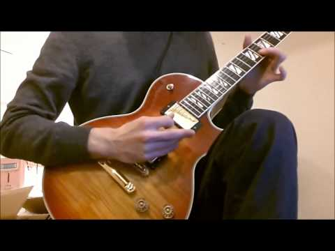 Jeff Healey Angel Eyes solo cover