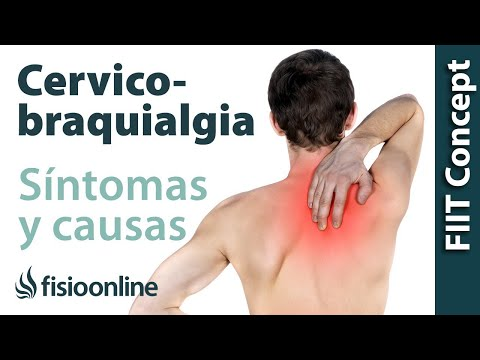 ¿Qué es la cervicobraquialgia o dolor cervical irradiado y cuáles son sus causas y síntomas?