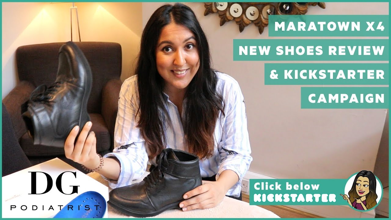 bbc39940239 Maratown x4 new shoes review   Kickstarter campaign - YouTube