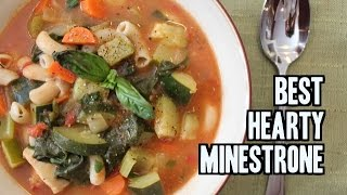 The Best Minestrone Soup Recipe