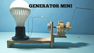 Download Video Cara membuat generator listrik mini sederhana MP3 3GP MP4