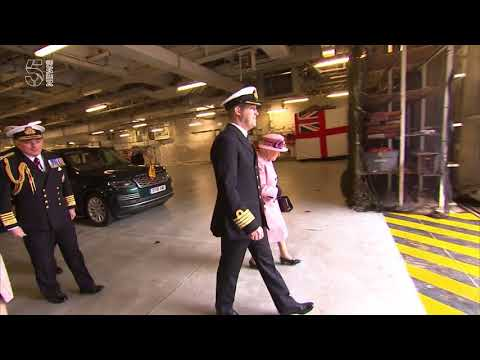 The Queen visits Plymouth for HMS Ocean decommissioning ceremony - 5 News