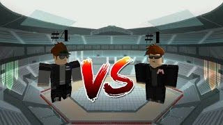 MIKEGAMER878 VS YOSOYTACO - #1 VS #4 - Leaderboard fight (Roblox Mad Games)