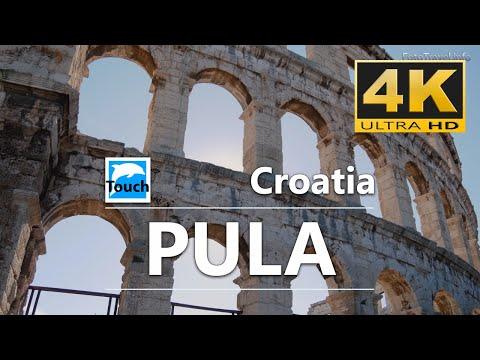 Pula, Croatia (Chorvatsko, Hrvatska), 4K - 15min.