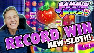 RECORD WIN!!! SUPER MEGA BIG WIN ON JAMMIN JARS - Huge Win from CASINO LIVE STREAM (MUST SEE)