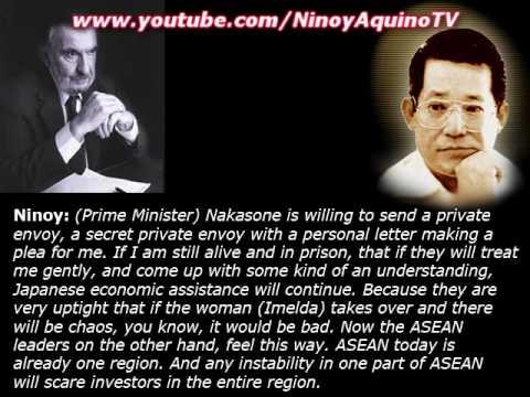 NINOY AQUINO's last recorded phone call before returning to Manila!!!