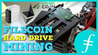 Filecoin Hard Drive HDD Mining News | Incentivized Testnet | Ethereum Mining Rewards Increase