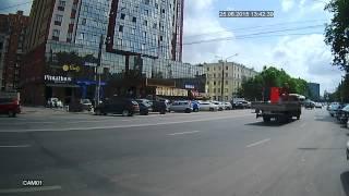 Дневное видео (режим AHD-М) с уличной AHD камеры на базе модуля 1/3