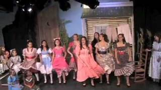 Jessie Harrison as Laurey Williams- Many A New Day- Oklahoma the Musical