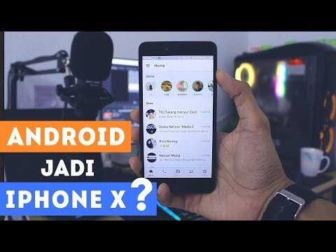 How to Change Whatsapp Display from Android to iPhone X 2018