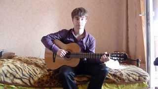 Слёзы войны.Песня под гитару.